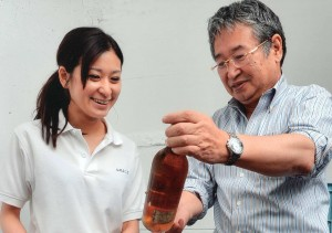 Grace Winery Ayana and Shigekazu Misawa