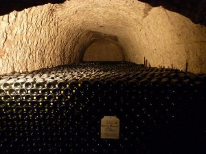 Taittinger chalk caves