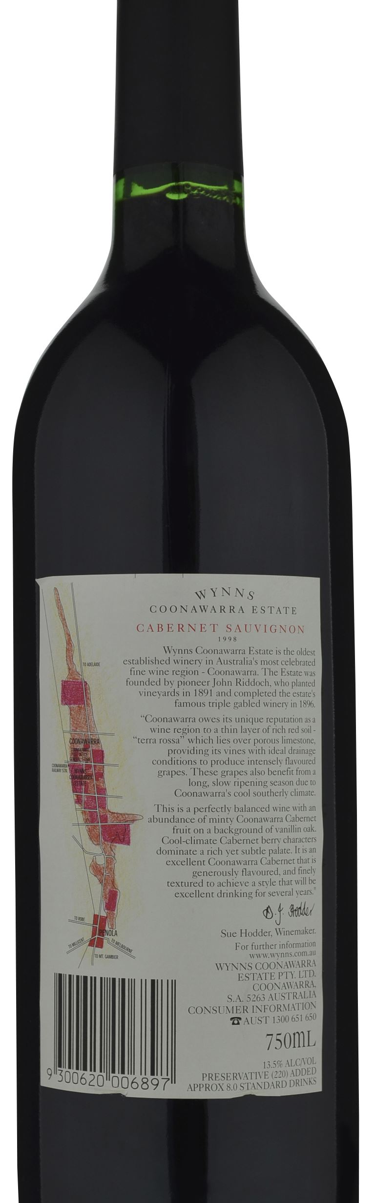 It's just an image of Old Fashioned Wynns Coonawarra Estate Black Label Cabernet Sauvignon
