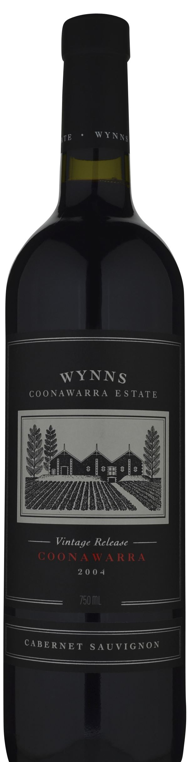 It's just a graphic of Vibrant Wynns Coonawarra Estate Black Label Cabernet Sauvignon